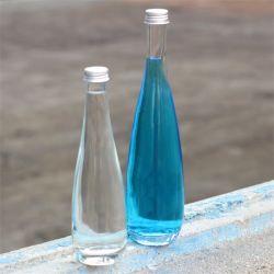 De snelle Fles van het Glas van het Water van het Sap van de Schroefdop van het Aluminium van de Levering 11oz