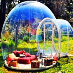 Bulle dôme gonflable géant gonflable Bulle transparente de tentes tente pour la vente