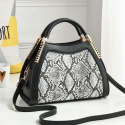 Btl10542China는 적중 판매 Snakeskin 여자 지갑 형식 숙녀 Python 사슬 PU 손 부대를 도매한다