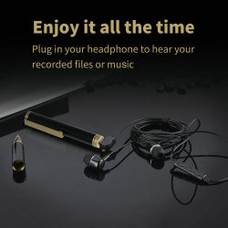 Grabadora portátil Mini Grabador Bolígrafo Bolígrafo grabador de audio de la reducción de ruido de la herramienta de grabación