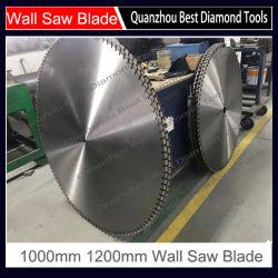 Il muro di cemento del laser Arix di qualità di Tyrolit Hilti ha veduto la lamierina di taglio 800mm 1200mm 1600mm, lamierina di taglio concreta