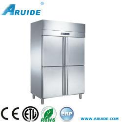 Commerciële koelkast met vier deuren en hoge kwaliteit, rechtop (D1.0L4FB)