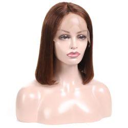Ondulado natural de alta calidad 100% de la Virgen de la India pelucas cabello humano.