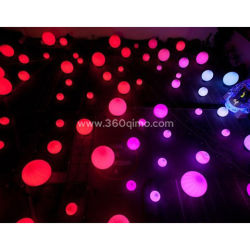 Cheap Wholesale pendaison Star gonflable d'éclairage à LED pour l'étape de la décoration iw205