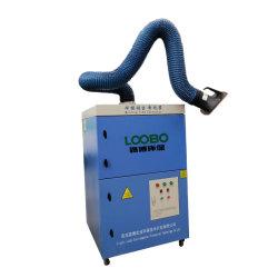 Limpieza automática Extractor de humos de soldadura con el doble de las armas