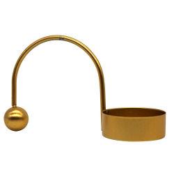 L'or noir Tea Light moderne porte-bougie pour mariage, parti, la maison, décoration de SPA