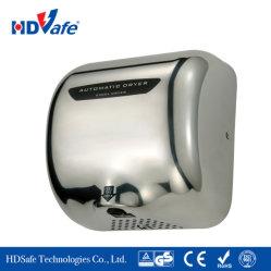 Hotel de estilo americano Instituto aço inoxidável automática do sensor eléctrico do secador de secador de mão