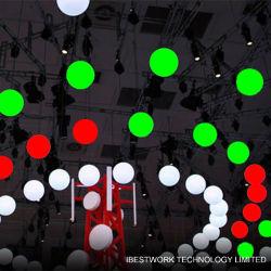 8cm RVB DMX 3D Ampoule de LED pour le Club Disco Bar décoration