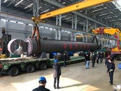 Größtes Doppeltes verantwortlicher Hydraulik-Wagenheber des Gewicht-200t für den 130m Stapel-Rahmen, der Lastkahn fährt