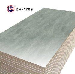 Planche en bois brillant UV en marbre d'administration pour meubles de cuisine (ZH-1709)