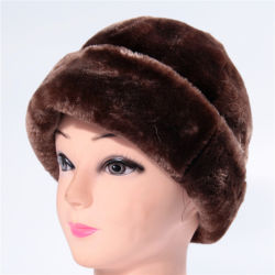 Supersoft Lana Artificial ruso Trapper Piscina Gorra de béisbol de invierno Beanie Hat gorros de invierno