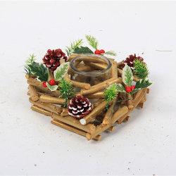 Простой деревянной ремесел деревянные элементы Craft рождественские украшения