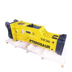 유압 망치 Doosan 무거운 산업 미끄럼을 설계하는 Baicai Ylb1400A Sb81는 구체적인 굴착기 바위 유압 차단기를 조타한다