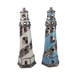 Творческие декор керамических маяка с Tealight