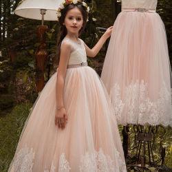 Novo Design de verão noite de desgaste de moda jovem vestido menina das Flores