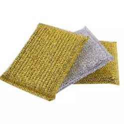 Saubererer Polyester-Schwamm für das Säubern mit biodegradierbarem Paket