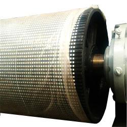Vulkanisierte keramische Beschichtung verlangsamte Riemenscheiben-Gummiverkleidungs-Blatt-Rolle für Förderanlagen-Riemenscheiben-Verkleidung