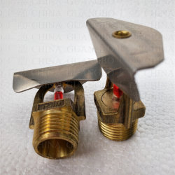 Protezione della casa dello spruzzatore del fuoco del muro laterale di protezione della casa della lampadina di vetro di grado 5mm di Zstmb-T 80/170-68
