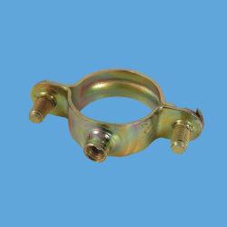 Gewinde des Kohlenstoffstahl-verzinktes einzelnes Ring-M6, das 1mm Bohrrohrklemmen sperrt