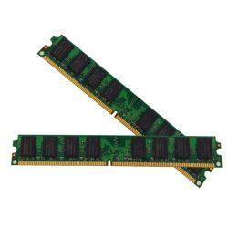 Системная память заполнена совместимых 800МГЦ Cl5 DDR2 2 ГБ оперативной памяти Lodimm
