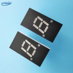 Custom 7 LED de segmento único dígito Display LED numérico com RoHS perito da China Fabricante