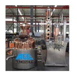 Vino del distillatore dell'alcool mini della strumentazione del fermentatore del distillatore dell'acciaio inossidabile del distillatore di rame su ordinazione domestico della casa