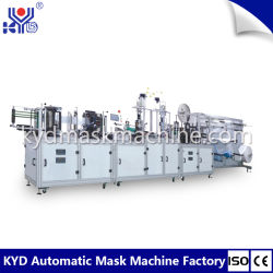 Kyd tipo automatizado sólido 3-D Mascarilla Mascarilla plegada soldadora con precio favorable