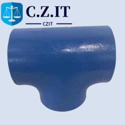 Стыковых сварных легированная сталь 15X5m колено тройника фитинг топливопровода