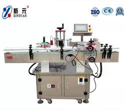 Máquina de etiquetado automático de botellas redondas con botella de la Organización de la máquina
