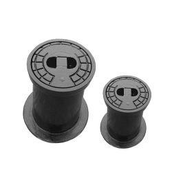 Ao redor da superfície de ferro fundido dúctil preta caixa para válvula gaveta