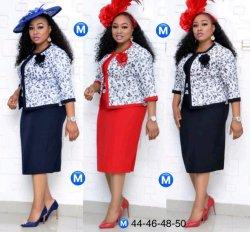 Vestiti africani del cappotto e di vestito di stile più i vestiti di vestiti convenzionali dalle donne di formato