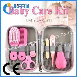 طقم تنظيف الأطفال حديثي الولادة مشط فرشاة الشعر Clipper Scissors مجموعة العناية بالسلامة