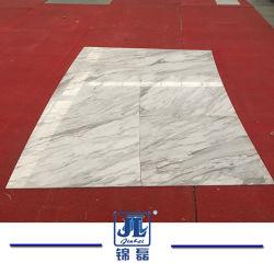 平板のための自然なStonepolishedか砥石で研がれた白い大理石、壁のタイル、床タイル、浴室、虚栄心の上、Guangxiの白、Volakas、Marmalaの白、Calacattaの絹、Ariston
