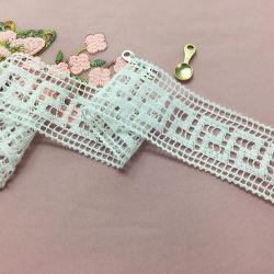 Diseño de Moda Venta caliente los encajes de 4.3cm de fresado de algodón para la ropa de mujer