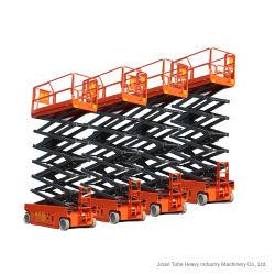 6m Mobiliers de batterie hydraulique plate-forme élévatrice à ciseaux pour la vente