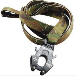 Guinzaglio militare del cane di stampa di nylon resistente con la clip della rana