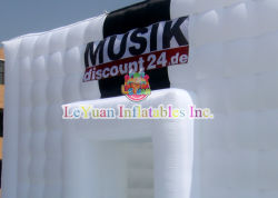 10X7m aufblasbares Stadiums-Deckel-Zelt-Shell-Ausstellung-Zelt