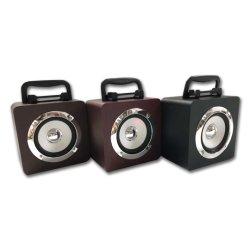 Accessoire de téléphone Cube Case Multifuctional rétro enceintes sans fil haut-parleur Bluetooth support MP3 Player&FM&Radio&USB