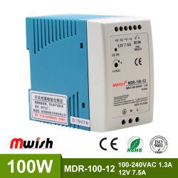 Mdr-60W Ce 12W Circuito de alimentación para luz LED de alimentación de conmutación en carril DIN compacta