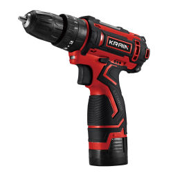 12V 1.5ah Cheap中国Portable Screwdriver Two Battery Lithium Fast Charge BMC Case Cordless Drill