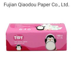 OEM de pâte de bois vierge du papier absorbant les mouchoirs de papier