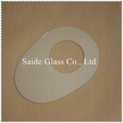 Macchina di CNC che elabora il vetro del comitato di tocco, coperchio di vetro della protezione dello schermo con tolleranza di piccola dimensione