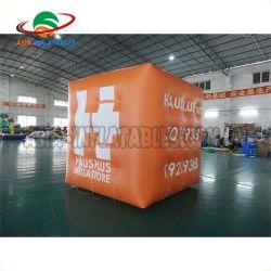 La publicidad impresa inflables globos de helio Cube