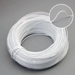 Mayorista de la fábrica de plástico de PVC de núcleo único cable puente nasal para mascarilla