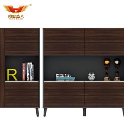 Heißes Verkaufs-Büro-Möbel-Teakholz-hölzerner Aktenschrank (HY-C00310)