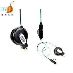 1-1.5 M rétractable durables Portable Mini connecteur USB du chargeur de câble d'extension de l'iPhone
