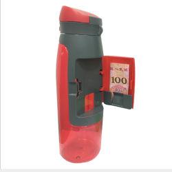 Diseño creativo Wallet para uso alimentario Ecológico espacio portátil de plástico de botellas de agua 750ml