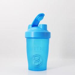 Private Label 400 ml 600ml colorido Gimnasio Sports botella agitador de la Proteína de plástico