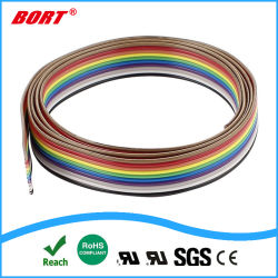 Couleur du câble ruban UL 2468 8 broches câble ruban plat