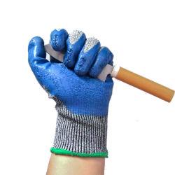 Duurzaam AntiNiveau 6 van de Besnoeiing de Dubbele Handschoenen van de Veiligheid van het Nitril Latex Met een laag bedekte Waterdichte Werkende